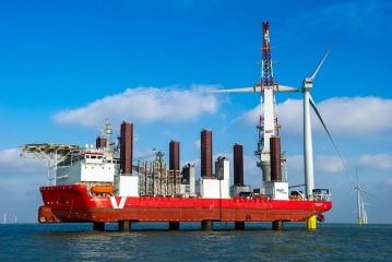 photo of London Array the world's biggest wind farm