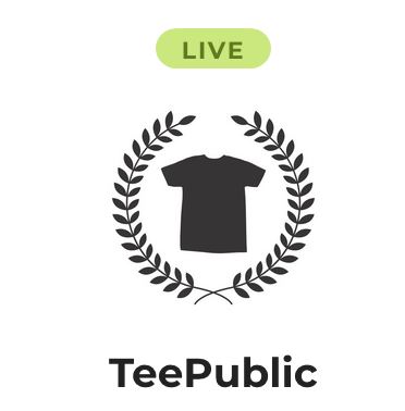 TeePublic and Podchaser integration
