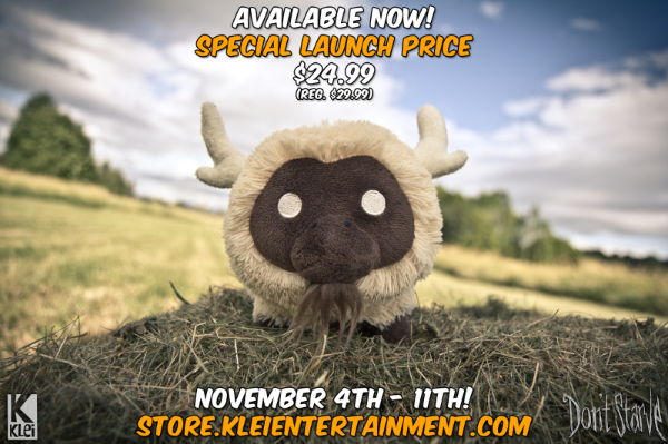Beefalo Plush Launch