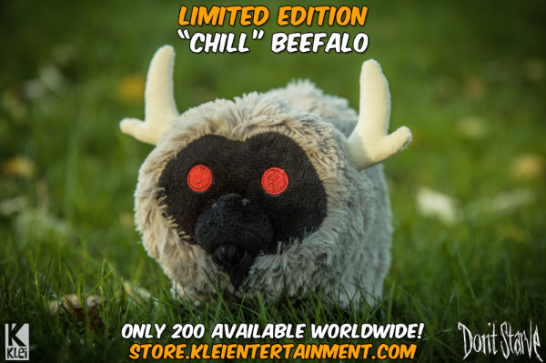 Chill Beefalo Plush