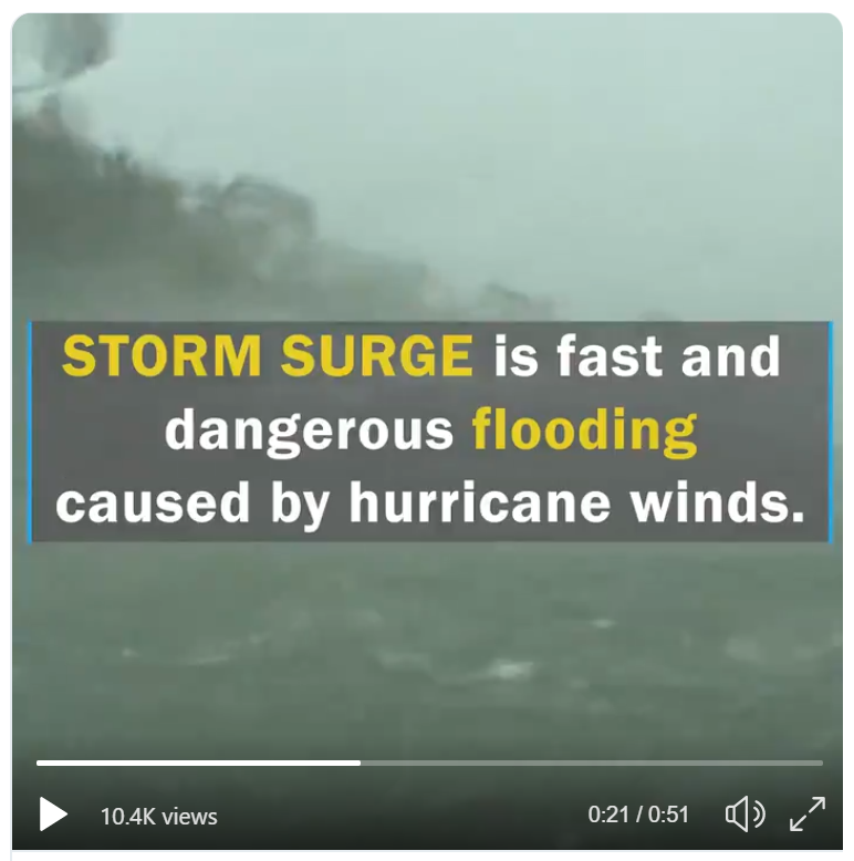 Storm surge graphic from Ready.gov