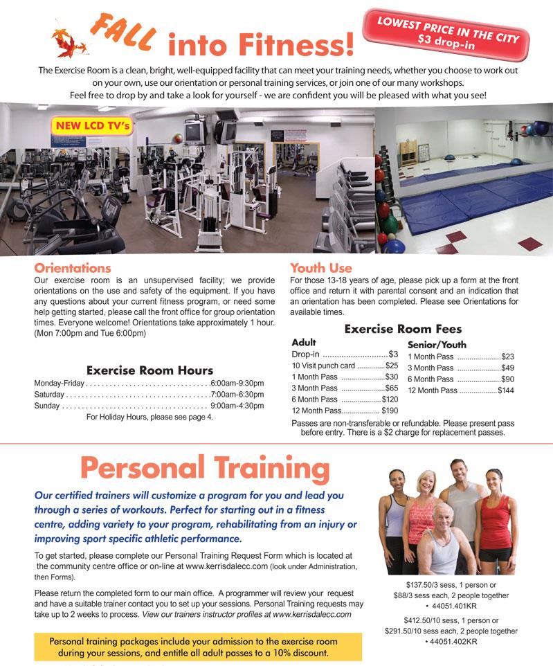 Kerrisdale Community Centre Fitness Centre & Personal Training