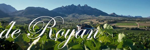 De Royan Newsletter Autumn 2014