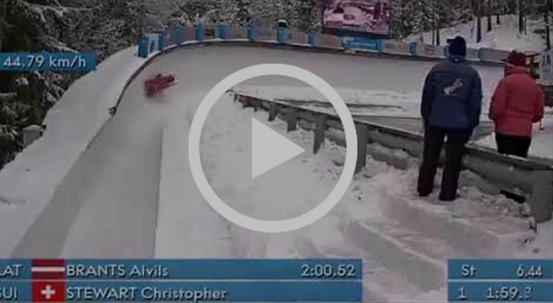 Stewart sets the tone at Mt. Van Hoevenberg | IBSF Para Sport Official