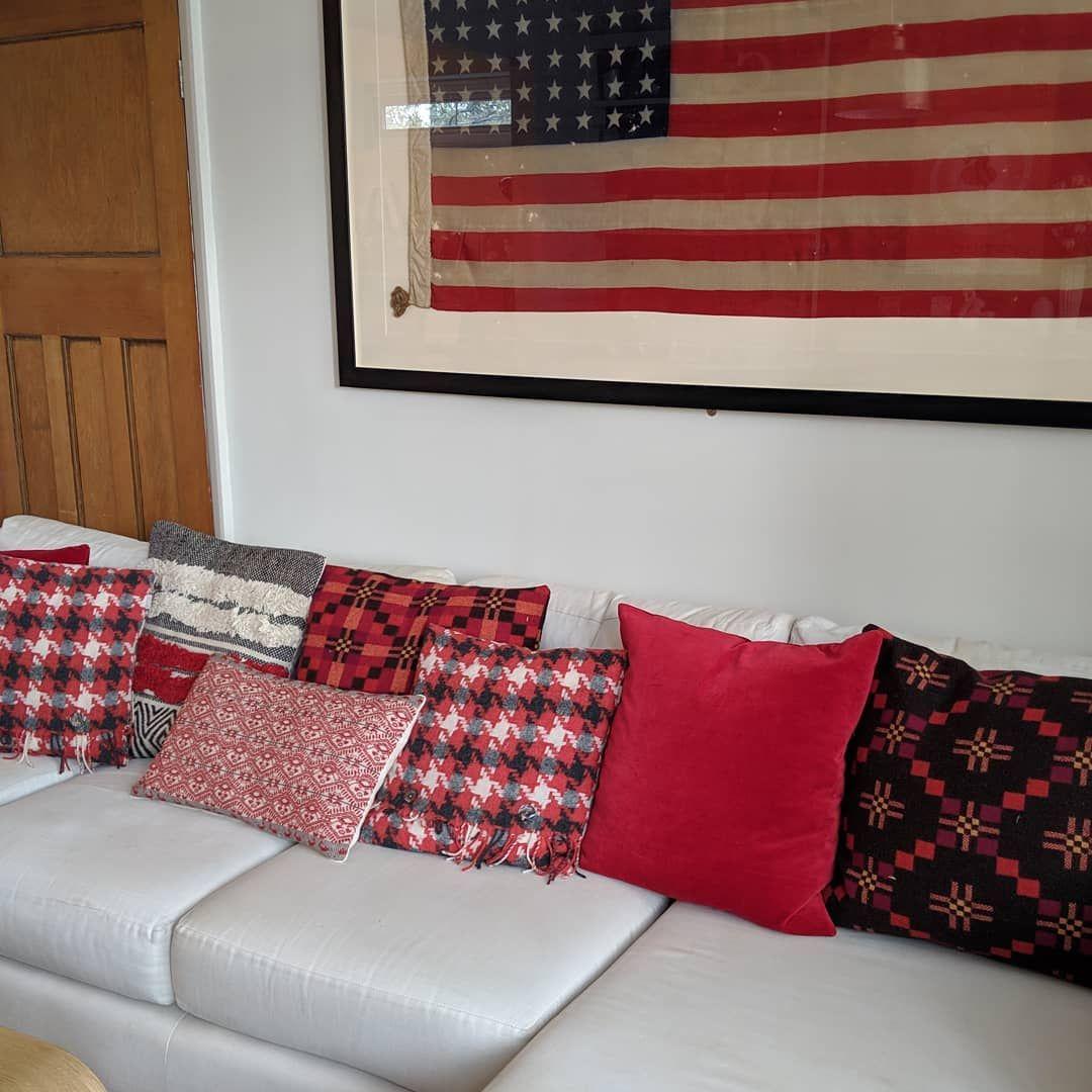 Khami Cushion Cover | Red