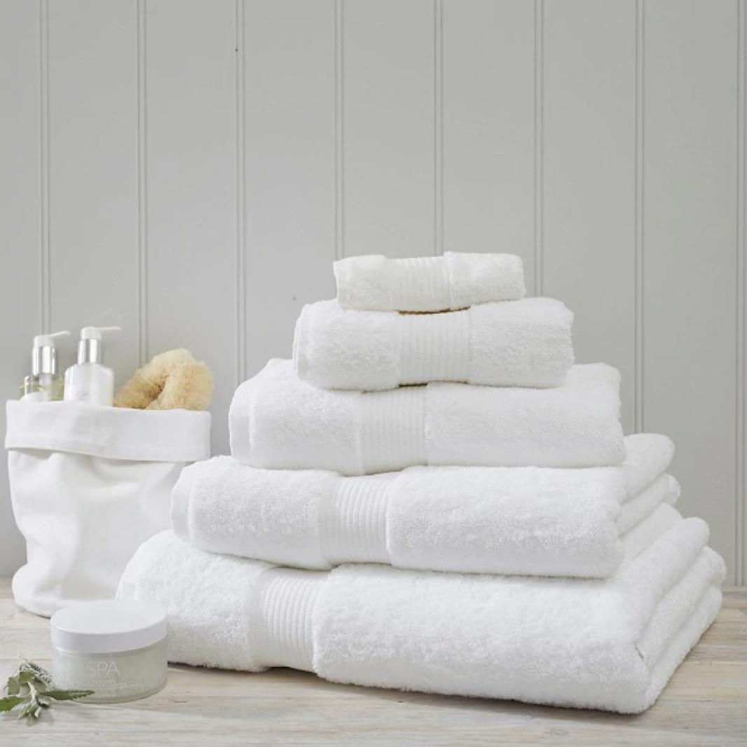 Big Fluffy White Towels