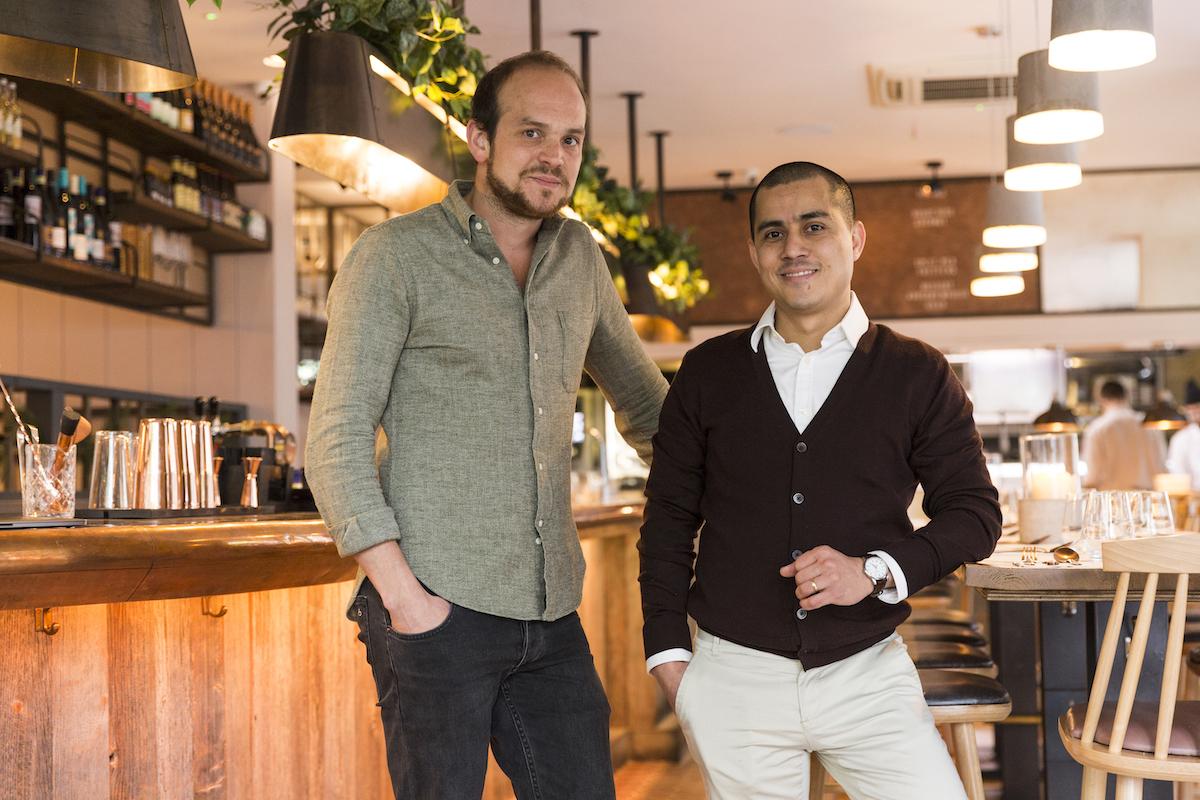 Lahpet's Dan Anton and Zaw Mahesh
