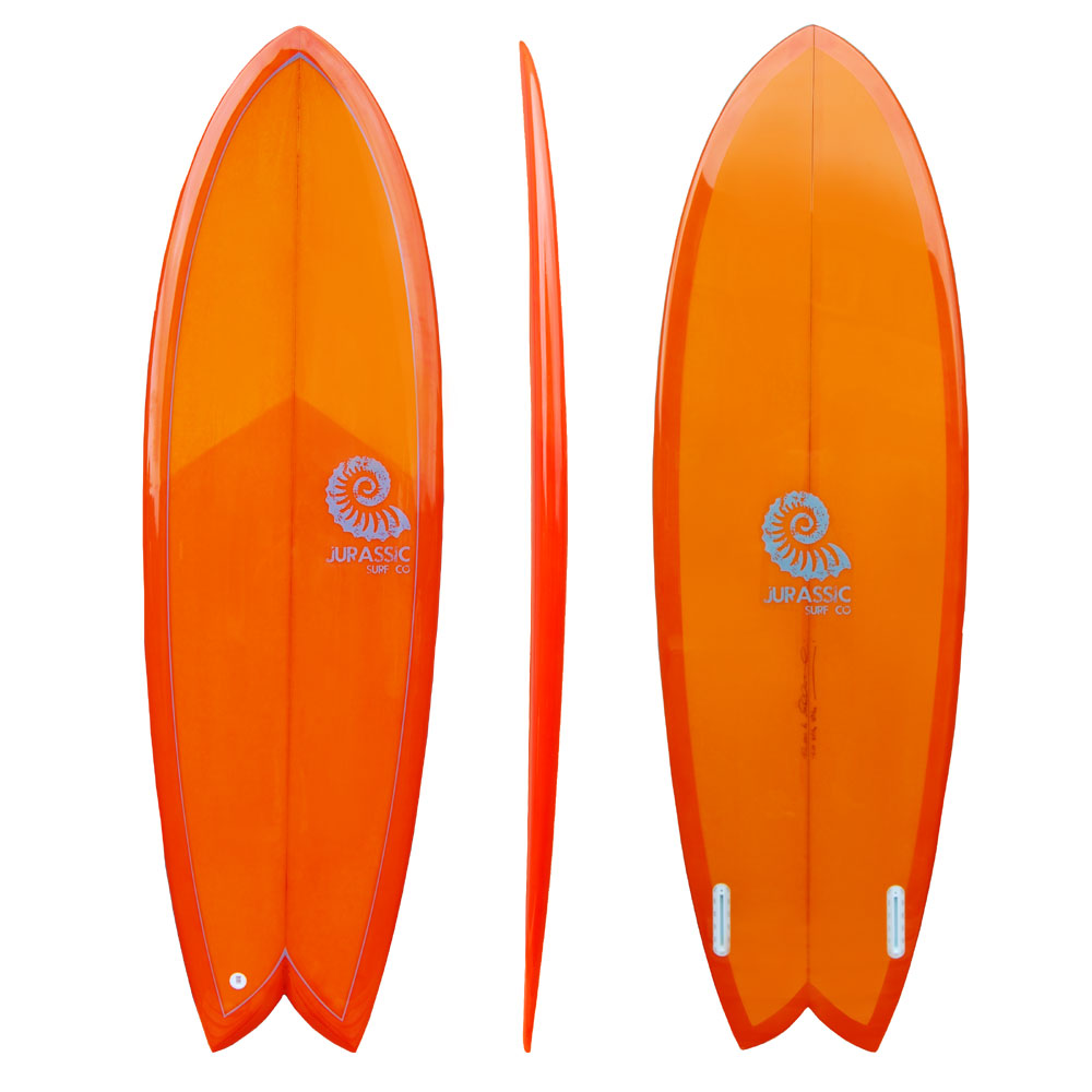 Orange Surfboard