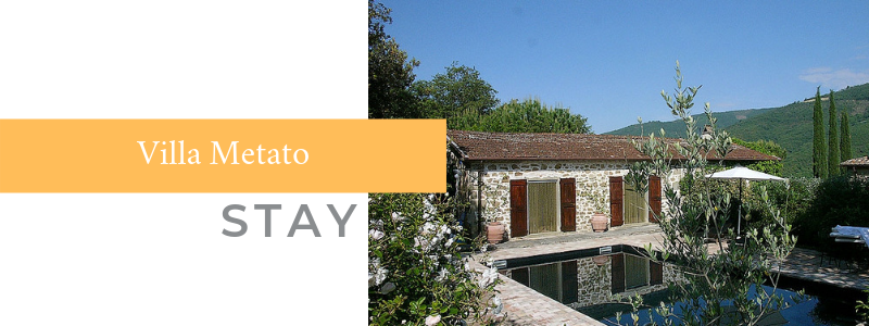 STAY: Villa Metato