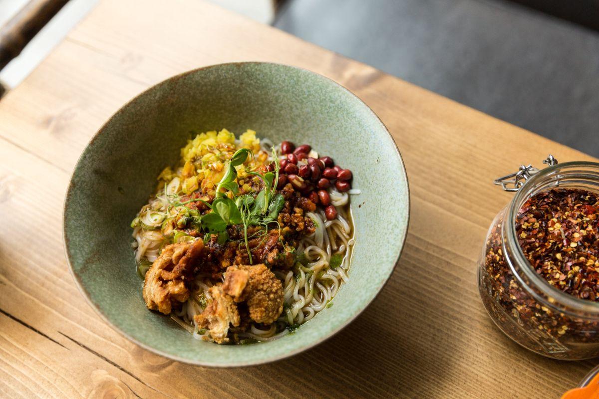 Lahpet Shan Noodles
