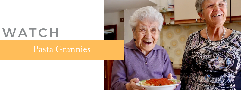 WATCH: Pasta Grannies