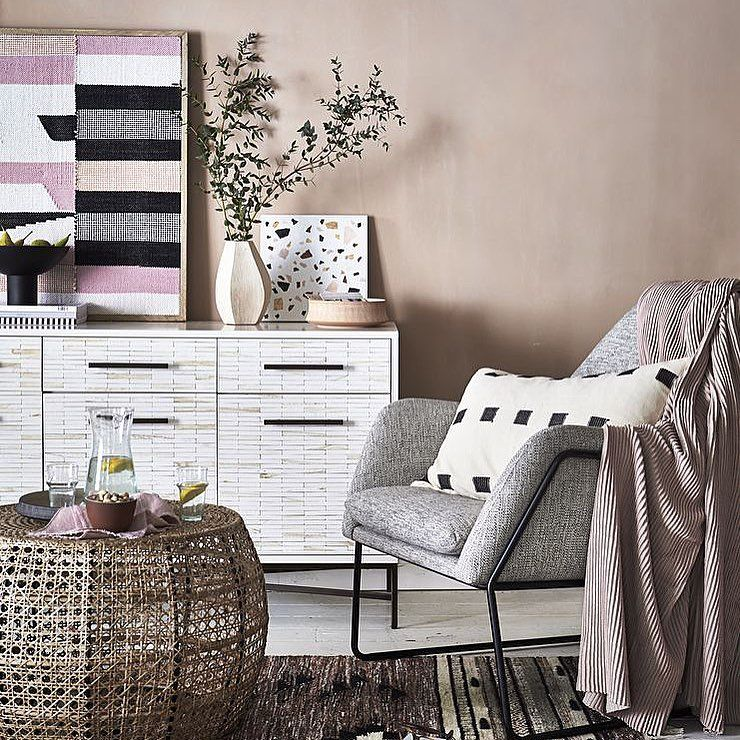 Tinsa – Large Black and White Cushion Cover
