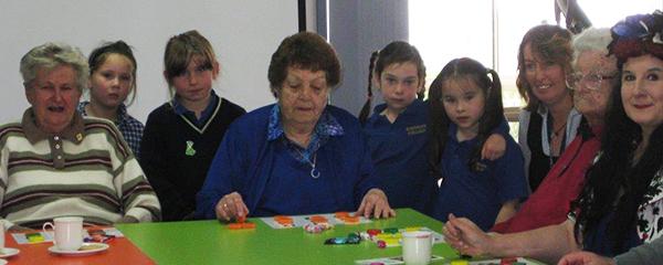 Memory Lane Cafe - Playing Bingo