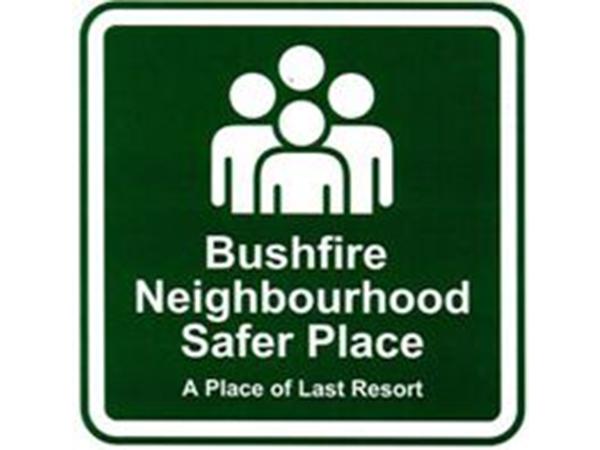Neighbourhood Safer Place Sign