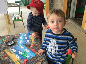 Children at Goroke Pop up Playgroup