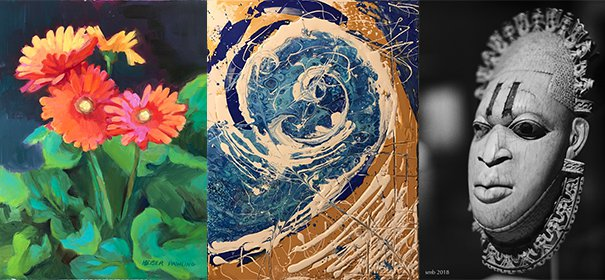 A wide variety of artists show at Le Salon at TAG