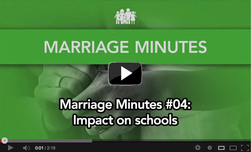 Marriage Minutes #04: Impact on schools