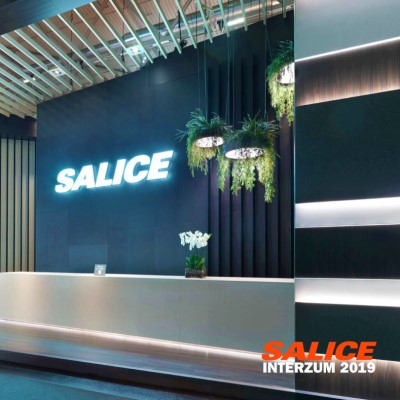 Stánek firmy Salice na Interzum 2019
