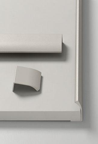 Různé rozměry Edge Straight s povrchovou úpravou S2005 Béžová jen tak naladno