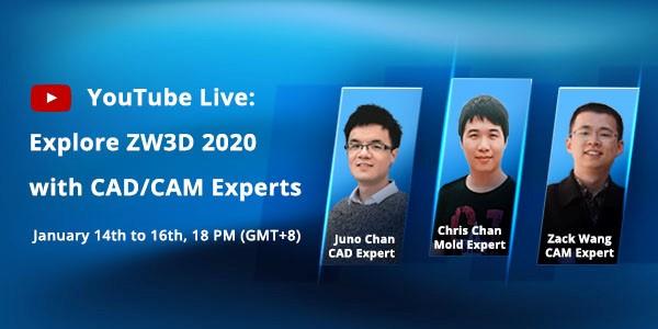 ZW3D 2020 Live Banner