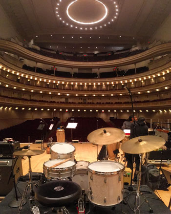 Aretha drums