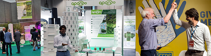Impressions from aponix trade shows and conferences.