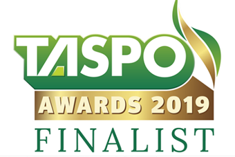 Aponix nominated - TASPO logo