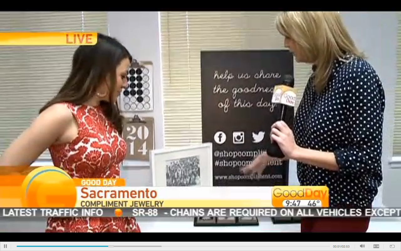 Shop Compliment on Good Day