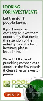 Deal Radar in Envirotech & Clean Energy Investor Forum