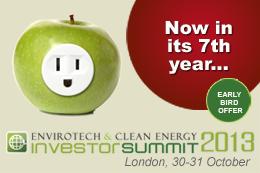 Envirotech Investor Summit 2013