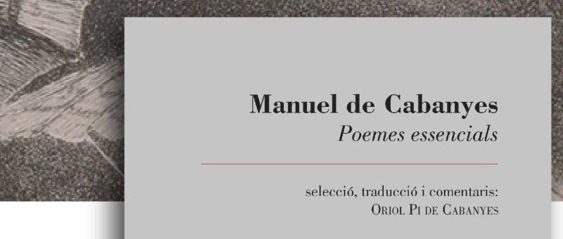 Poemes essencials de Manuel de Cabanyes