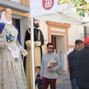 Mercat de Sant Jordi i fira d'entitats a Sant Martí Sarroca
