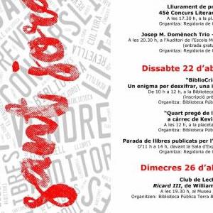 Diada de Sant Jordi al Vendrell