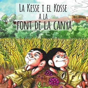 Presentació del conte il·lustrat sobre la vinya i la Font de la Canya
