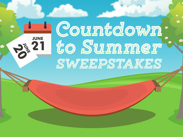 Countdown to Summer Sweepstakes