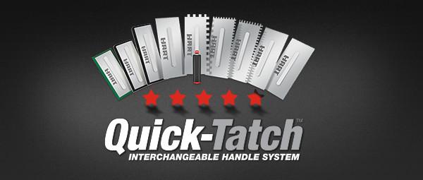 QuickTatch Interchangeable Handle System