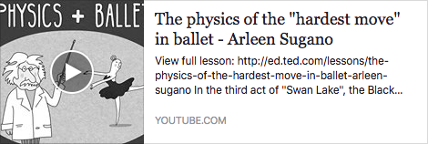 LEARN: The Physics of the Hardest Move in Ballet