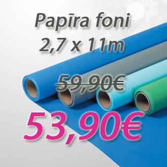 Jebkuram 2,7x11m fonam, kas pieejams noliktavā cena 53,90€.