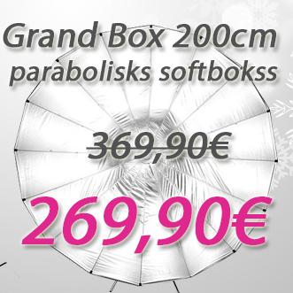 Grand Box 200cm parabolisks softbokss ar 100€ atlaidi.
