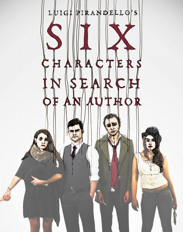 6 Characters in Search of An Author poster