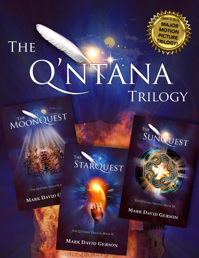 Q'ntana Trilogy book covers