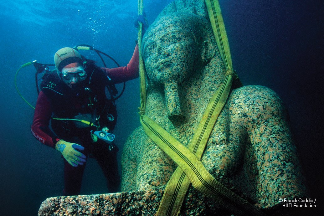 Egypt's Sunken Cities at the MIA with Atid