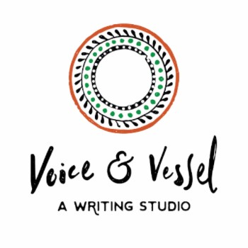 Voice & Vessel logo, with three concentric circles