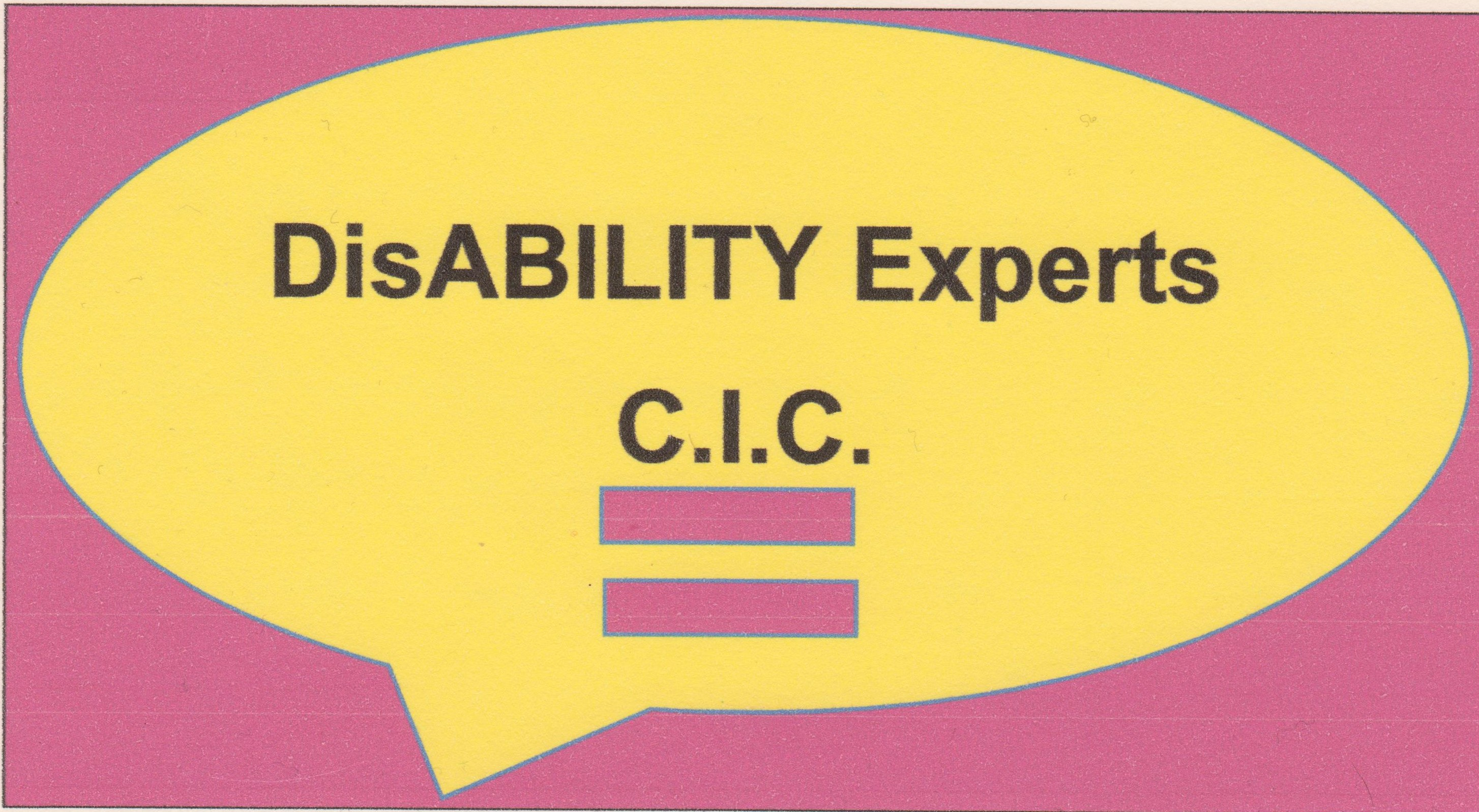 Disability Experts CIC Logo