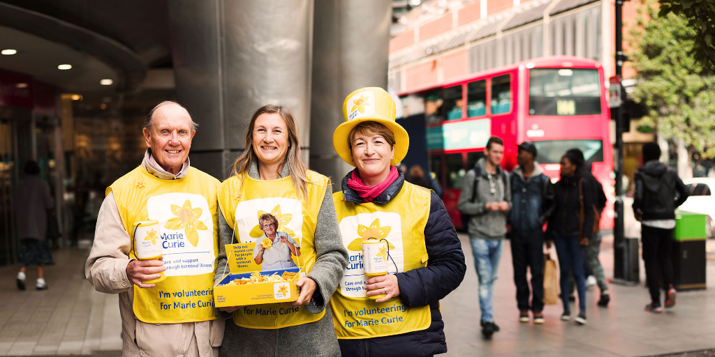 the Great Daffodil appeal for Marie Curie