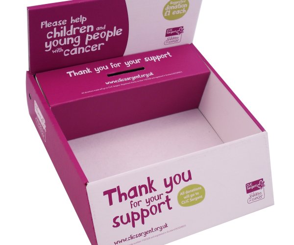 Leaflet dispensers and Collection boxes - Raise awareness and increase donations