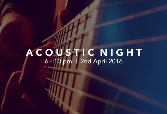Acoustic night at Blend & Batch