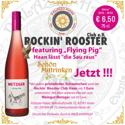 """Rockin' Rooster feautering """"Flying Pig"""""""