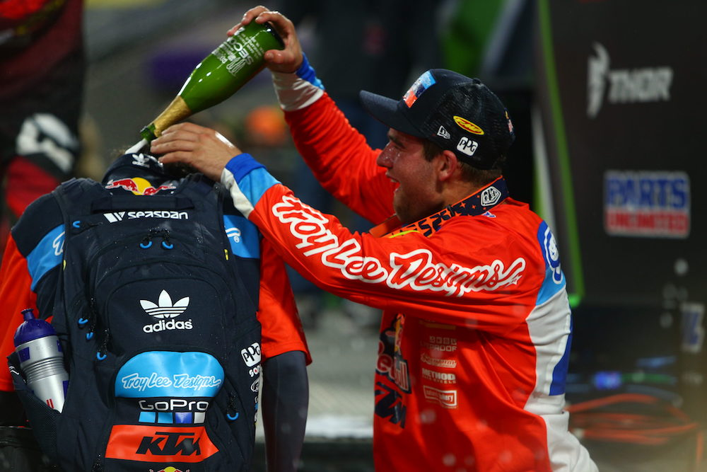 Troy Lee Designs/Red Bull/KTM's Smith Starts Season With Runner-Up Finish