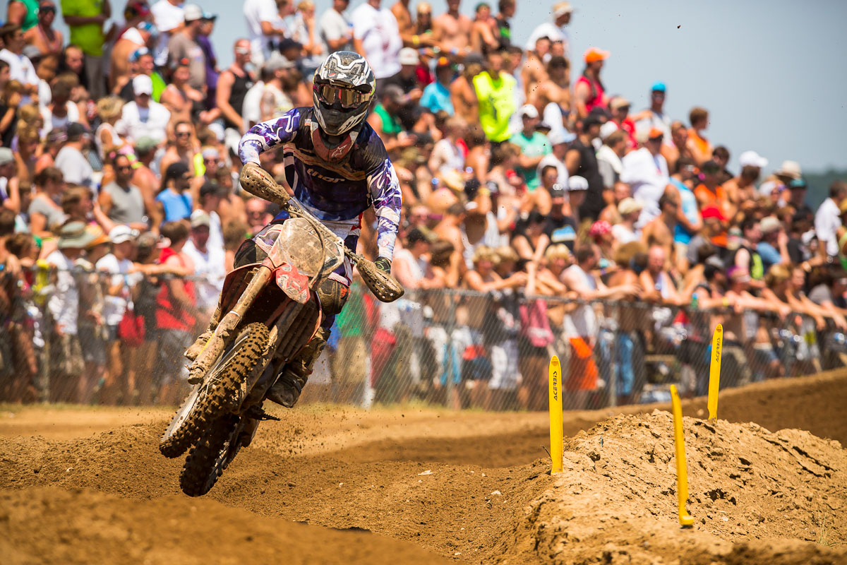 Thor's Blake Baggett Is Perfect At RedBud